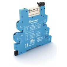 Интерфейсный модуль, электромеханическое реле, серия MasterBASIC; 1CO 6A; питание 230-240В AC;  безвинтовые клеммы Push-in