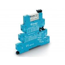 Интерфейсный модуль, электромеханическое реле, серия MasterPLUS; 1CO 6A; питание 110-125В AC/DC;