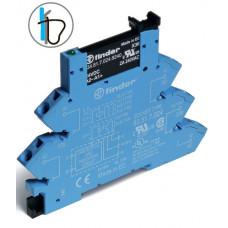 Интерфейсный модуль, твердотельное реле; выход 0,1A (48В DC); питание 24В DC; (пружинный зажим)