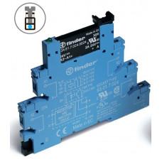 Интерфейсный модуль, твердотельное реле; выход 2A (24В DC); питание 24В DC;