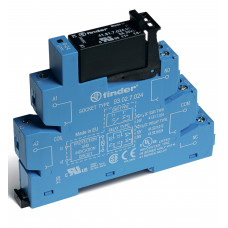 Интерфейсный модуль, твердотельное реле; выход 3A (240В AС); питание 24В DC;