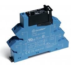 Интерфейсный модуль, твердотельное реле; выход 5A (24В DС); питание 24В DC; (пружинный зажим)