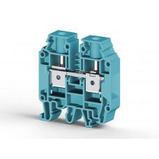 Клеммник на DIN-рейку 16мм.кв. (синий); AVK16 RD