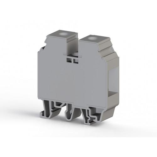 Клеммник на DIN-рейку 35мм.кв. (серый); AVK35 RD 304250