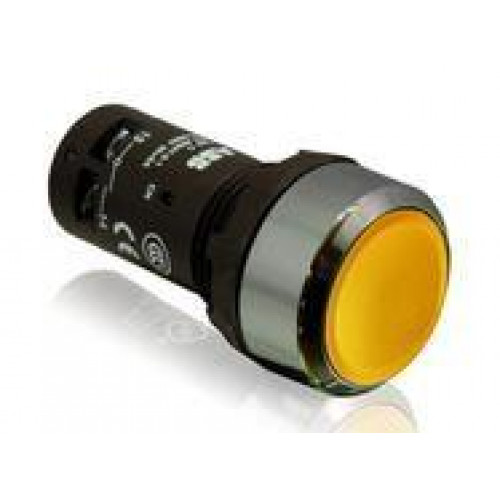 Кнопка CP1-30B-02 черная без фиксации 2HЗ 1SFA619100R3056