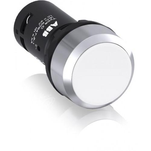 Кнопка CP1-30W-11 белая без фиксации 1НО+1HЗ 1SFA619100R3075