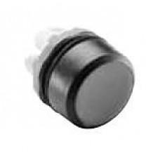 Кнопка MP1-20B черная (только корпус) без подсветки без фиксации