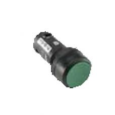 Кнопка MP2-21G зеленая (только корпус) с фиксацией с подсветкой