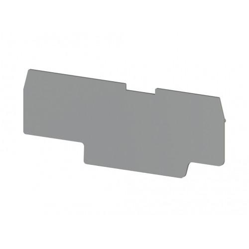 Концевой сегмент на 4-х выв. клеммники PYK 1,5MC (серый); NPP PYK 1,5MC 446659