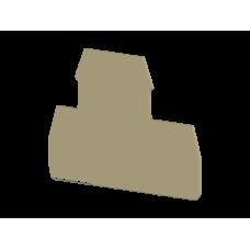 Концевой сегмент на клеммники 2-х ярусные PIK(2,5-4)N*, (синий); NPP PIK 2,5-4N