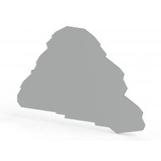 Концевой сегмент на клеммники 3-х ярусные PYK 2,5-3FT (серый); NPP PYK2,5-3FT