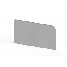 Концевой сегмент на клеммники ASK 4, (серый); NPP ASK 4