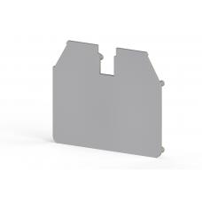 Концевой сегмент на клеммники  AVK 16RD, (серый); NPP 16RD