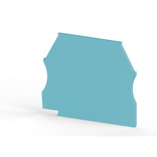 Концевой сегмент на клеммники AVK(2,5-10)/ AVK RD (2,5-4), (синий); NPP 2,5-10