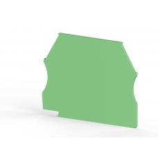 Концевой сегмент на клеммники AVK(2,5-10)/ AVK RD (2,5-4), (зеленый); NPP 2,5-10
