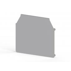 Концевой сегмент на клеммники AVK 25RD, (серый); NPP 25RD