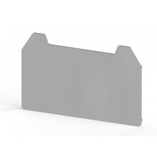 Концевой сегмент на клеммники AVK 4CC/CE/CCA, (серый); NPP AVK 4CC/CE/CCA
