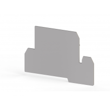 Концевой сегмент на клеммники AVK 4FS, (бежевый);  NPP AVK 4FS