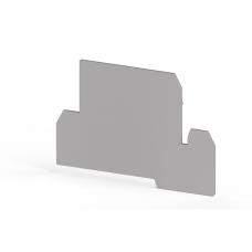 Концевой сегмент на клеммники AVK 4FS, (серый);  NPP AVK 4FS