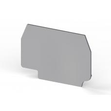 Концевой сегмент на клеммники AVK 4R/A, (серый); NPP AVK 4R/A