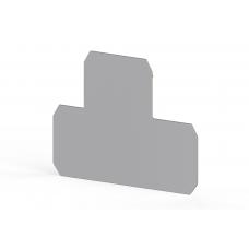 Концевой сегмент на клеммники PIK 6/10N, (серый); NPP PIK 6/10N