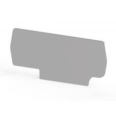 Концевой сегмент на клеммники PYK 2,5C (серый); NPP PYK 2,5C