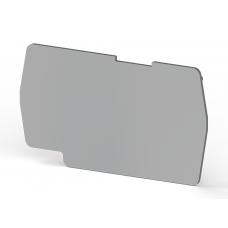 Концевой сегмент на клеммники PYK 4 (серый); NPP PYK4