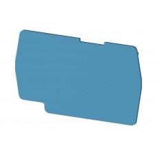 Концевой сегмент на клеммники PYK 4 (синий); NPP PYK4