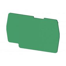 Концевой сегмент на клеммники PYK 4 (зеленый); NPP PYK4