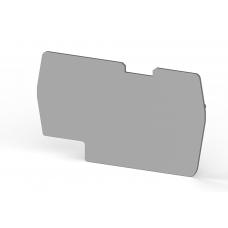 Концевой сегмент на клеммники PYK 6 (серый); NPP PYK6