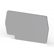 Концевой сегмент на клеммники PYK2,5 (серый); NPP/PYK 1,5/2,5