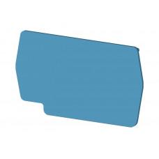 Концевой сегмент на клеммники PYK2,5 (синий); NPP PYK2,5