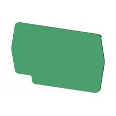 Концевой сегмент на клеммники PYK2,5 (зеленый); NPP PYK2,5