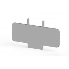 Концевой сегмент на клеммники WGO 5, (серый); NPP / WGO 5