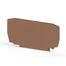 Концевой сегмент на клеммники YBK4, (бежевый); NPP YBK4