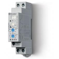 Контрольное реле для 1-фазных сетей; пониженное/повышенное напряжение, настраиваемые диапазоны; выход 1CO 10А;