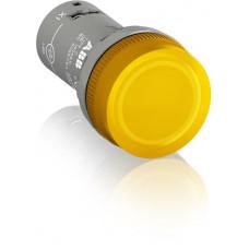 Лампа CL2-502Y желтая со встроенным светодиодом 24В AC/DC