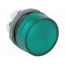 Лампа ML1-100G зеленая сигнальная (только корпус)