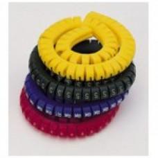 """Маркировка кабеля (кольцо) KG1  (0,75...4 мм.кв.), """"1""""  (уп. 100 шт.)"""