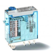 Миниатюрное промышленное электромеханическое реле; 1СO 16A;  катушка 24В DC;опции: кнопка тест + мех.индикатор