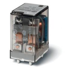 Миниатюрное силовое электромеханическое реле;  2CO 12A;  катушка 24В AC;
