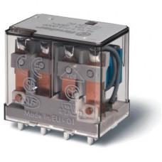 Миниатюрное силовое электромеханическое реле;  4CO 12A;  катушка 24В AC;