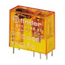Миниатюрное универсальное электромеханическое реле;  1CO 16A; катушка 120В AC;