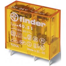 Миниатюрное универсальное электромеханическое реле;  1CO 16A;  катушка 24В AC;