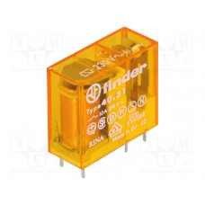 Миниатюрное универсальное электромеханическое реле; 1NO 10A;  катушка 230В AC;