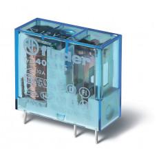 Миниатюрное универсальное электромеханическое реле; 1NO 10A;  катушка 24В DC;