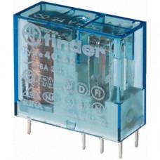 Миниатюрное универсальное электромеханическое реле;  1СO 10A;  катушка 21В DC;