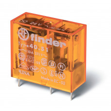 Миниатюрное универсальное электромеханическое реле;  1СO 10A;  катушка 240В AC;