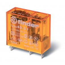 Миниатюрное универсальное электромеханическое реле;  1СO 10A; катушка 24В AC;