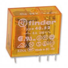Миниатюрное универсальное электромеханическое реле;  2CO 8A; катушка 110В AC;